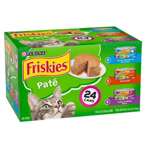 Friskies Pate 24 cans